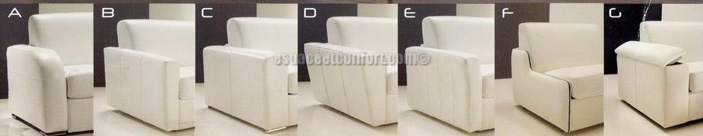 fauteuil lit rapido dream en cuir. Black Bedroom Furniture Sets. Home Design Ideas
