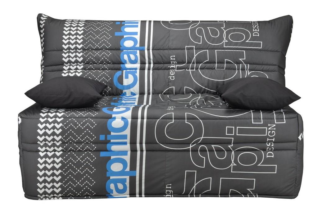 pack de rhabillage pour banquette bz en 140 cm tissu grafic 332. Black Bedroom Furniture Sets. Home Design Ideas