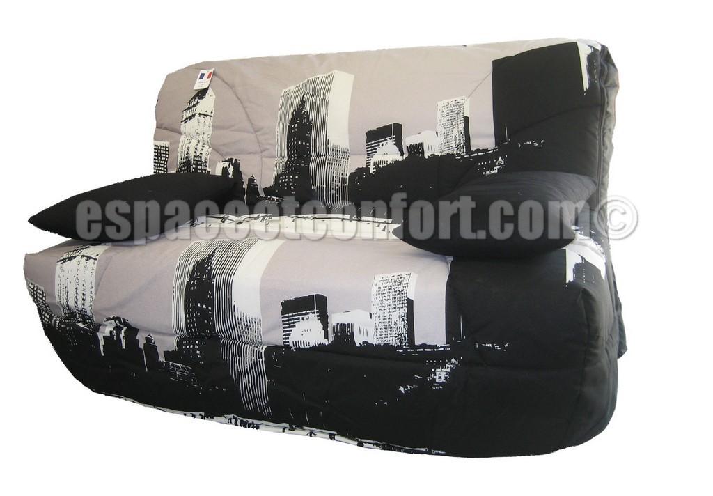 Pack de rhabillage pour banquette bz en 140 cm tissu - Housse bz grise 140 ...