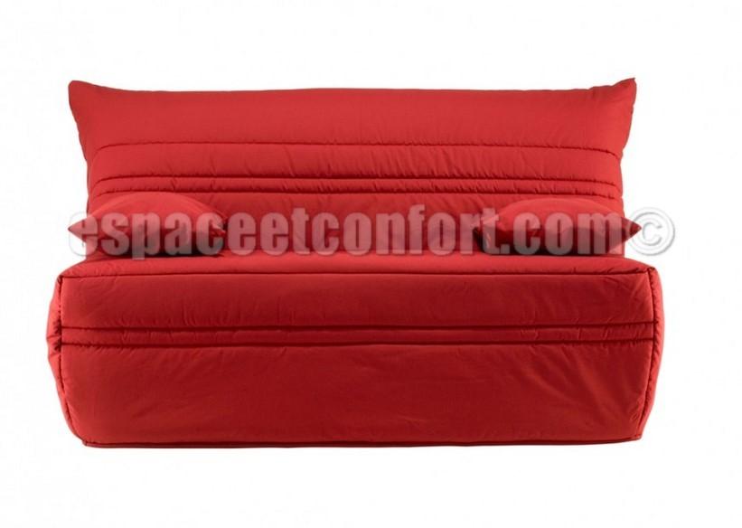 pack de rhabillage pour banquette bz en 140 cm tissu rouge 455. Black Bedroom Furniture Sets. Home Design Ideas
