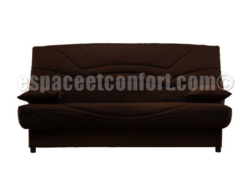 pack de rhabillage pour clic clac en 130x190 cm tissu chocolat 642. Black Bedroom Furniture Sets. Home Design Ideas