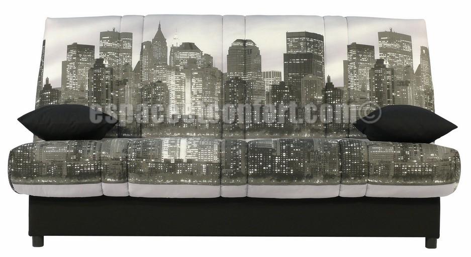 banquette clic clac karibou. Black Bedroom Furniture Sets. Home Design Ideas
