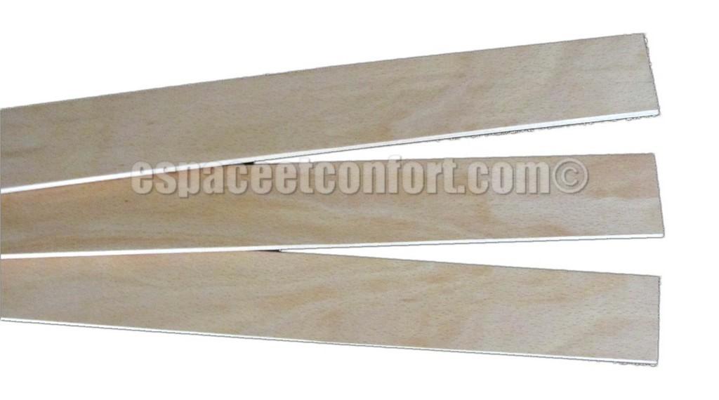 Lattes - largeur 53 mm - épaisseur 8 mm