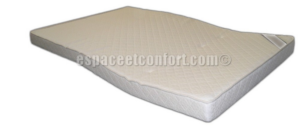 matelas pour canap convertible 2 plis mousse hr 30 kg m3 paisseur 11 cm. Black Bedroom Furniture Sets. Home Design Ideas