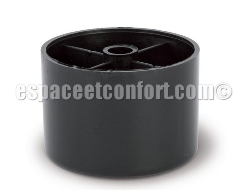 Pied plastique pour banquette hauteur 50 mm - Lattes pour clic clac ...
