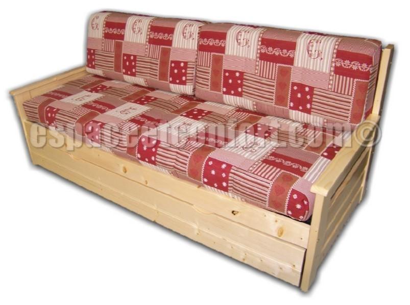 banquette lit gigogne omega. Black Bedroom Furniture Sets. Home Design Ideas