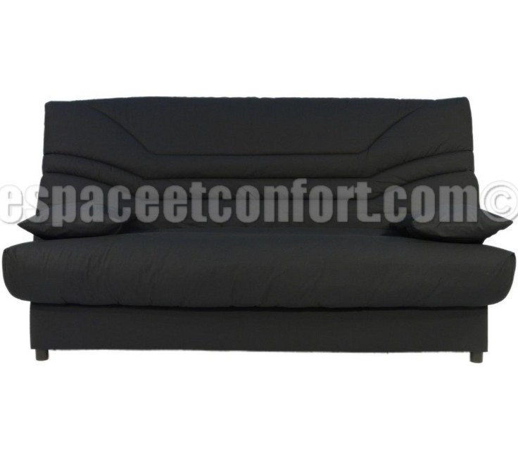 pack de rhabillage pour clic clac en 130x190 cm tissu anthracite 156. Black Bedroom Furniture Sets. Home Design Ideas