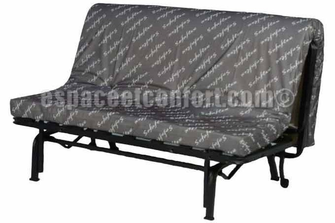 structure de banquette bz avec matelas sofaflex. Black Bedroom Furniture Sets. Home Design Ideas