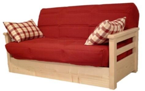 banquette bz opale avec accoudoirs en pin massif. Black Bedroom Furniture Sets. Home Design Ideas