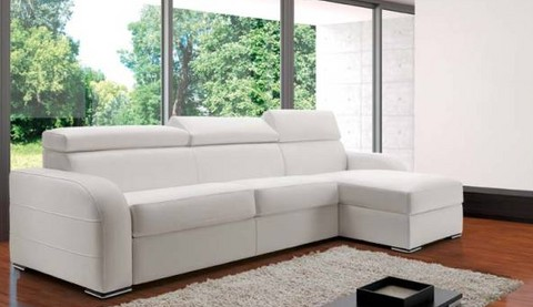 canap lit rapide en cuir dream t ti res m ridienne. Black Bedroom Furniture Sets. Home Design Ideas
