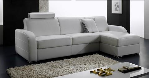 canap lit rapide en cuir dream m ridienne. Black Bedroom Furniture Sets. Home Design Ideas