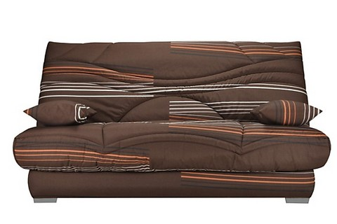 pack de rhabillage pour clic clac en 130x190 cm tissu moka line 341. Black Bedroom Furniture Sets. Home Design Ideas