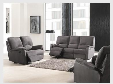 canap relax pedro electrique. Black Bedroom Furniture Sets. Home Design Ideas