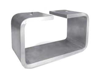 pieds de canap en aluminium bross eden - Pied De Canape Design