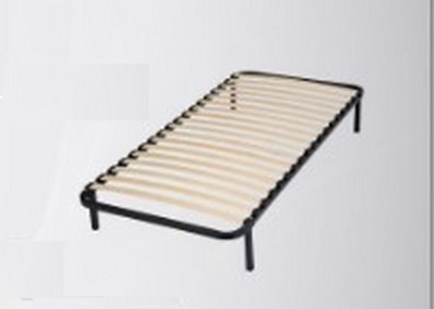 sommier lattes en kit cadre m tal lattes 1 place. Black Bedroom Furniture Sets. Home Design Ideas